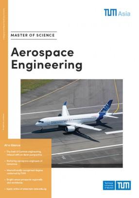 Master Of Science In Aerospace Engineering Tum Asia