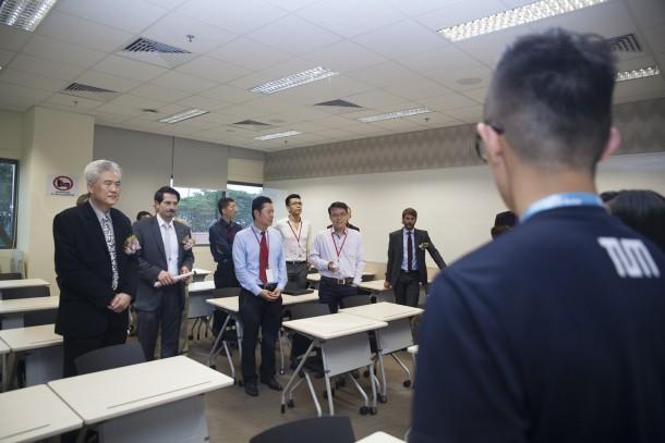 TUM Asia SIT@SP Campus Launch Classroom